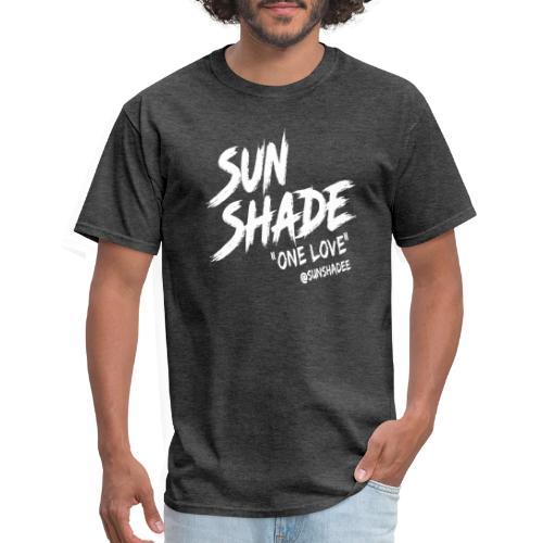 Sunshade 'One Love' White - Men's T-Shirt