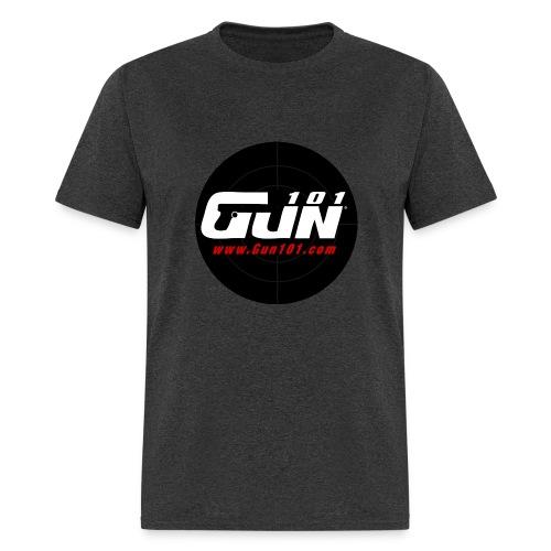 Gun101 T-Shirt w/ Round Logo - Men's T-Shirt