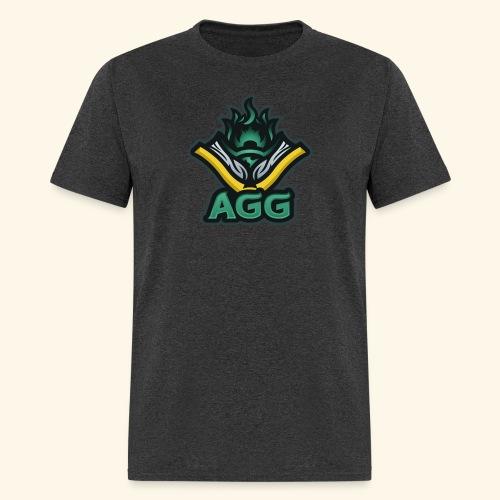 AGG Logo Text Transparent - Men's T-Shirt