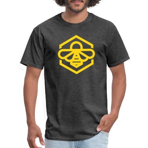 bee symbol orange - Men's T-Shirt