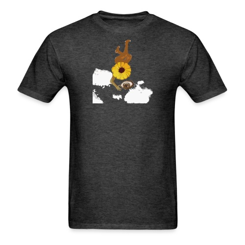flowereyecolour gif - Men's T-Shirt