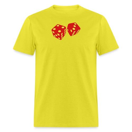 golden dice - Men's T-Shirt
