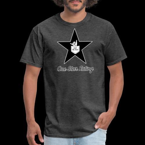 One Star Rating - Men's T-Shirt