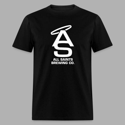 AS Logo white - Men's T-Shirt