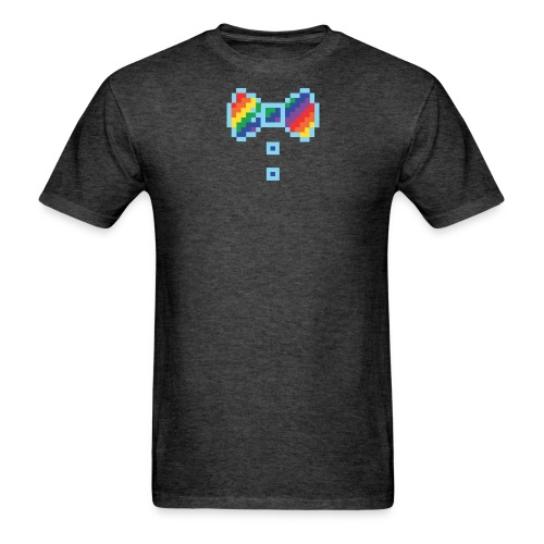 8 bit rainbowtie - Men's T-Shirt