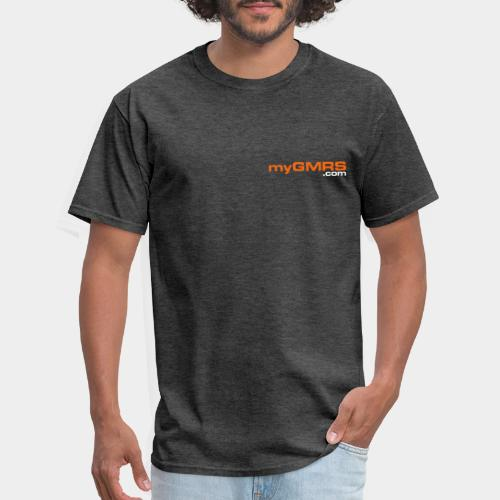 myGMRS.com and Tower - Men's T-Shirt