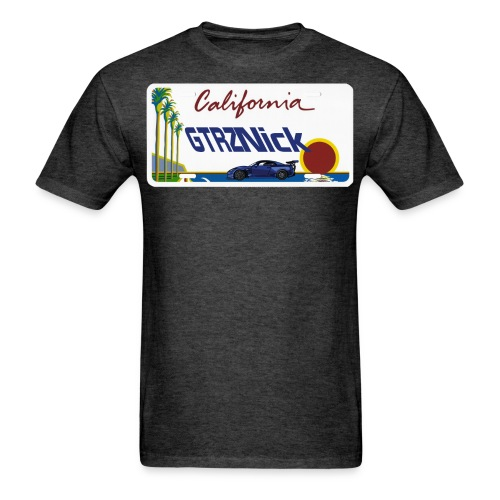 GTRZ Licence Plate - Men's T-Shirt