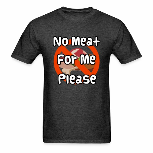 No Meat - Men's T-Shirt