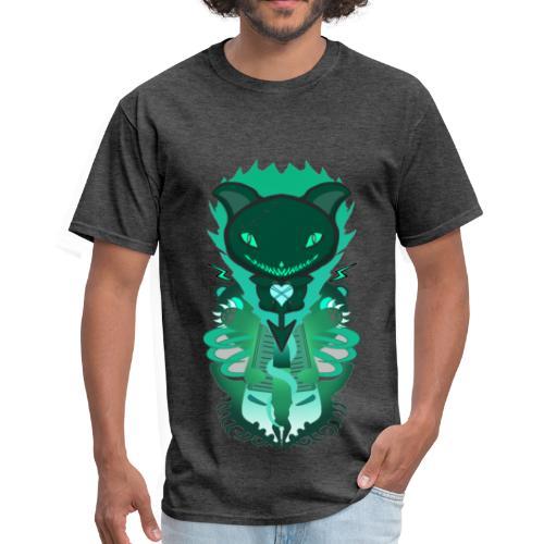 CUTE MONSTER CAT DESIGN SHIRT - Men's T-Shirt
