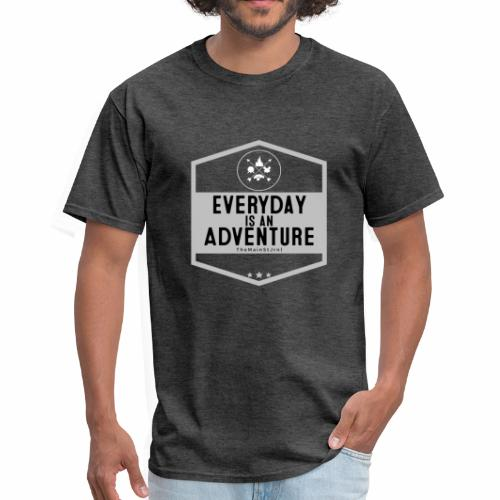 TheMainStJrnl - Everyday Is An Adventure (White) - Men's T-Shirt