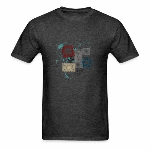Wicca Stamp - Men's T-Shirt