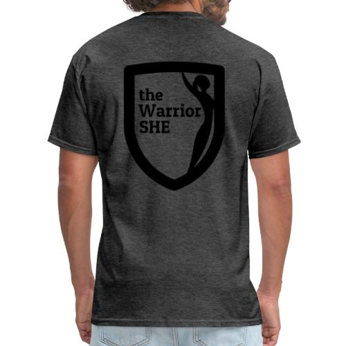 theWarriorSHE logo t-shirt - Men's T-Shirt