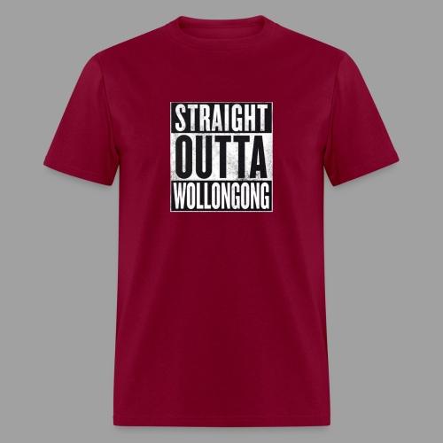 StraightOuttaSomewhere4 png - Men's T-Shirt