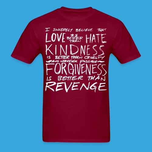 Love is Better than Hate - Men's T-Shirt
