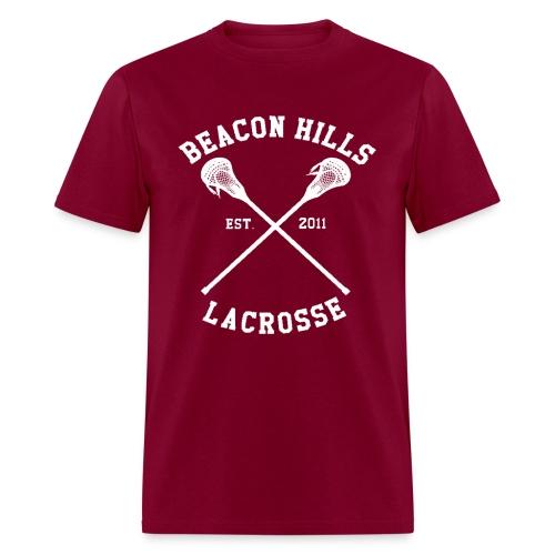 Scott McCall Lacrosse Hoodie - TEEN WOLF - Men's T-Shirt
