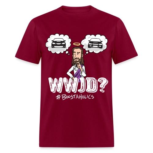 wwjd - Men's T-Shirt