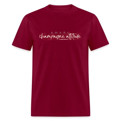 AMARU - Champagne Attitude (Album Logo) - Men's T-Shirt