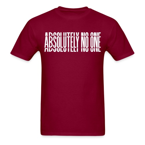 Absolutely No One Campaign - Men's T-Shirt