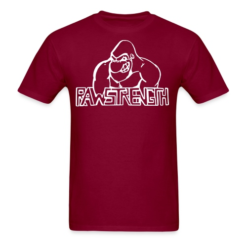 Raw Strength Logo - Men's T-Shirt