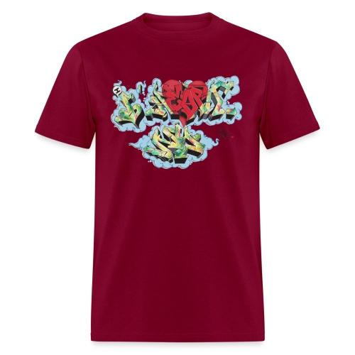 Nover - Design for New York Graffiti Color Logo - Men's T-Shirt