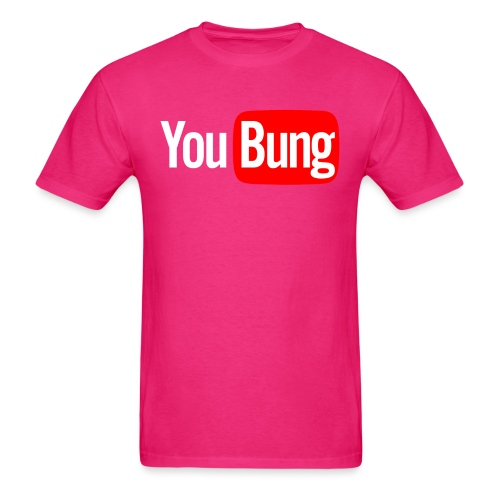 You Bung Logo White png - Men's T-Shirt