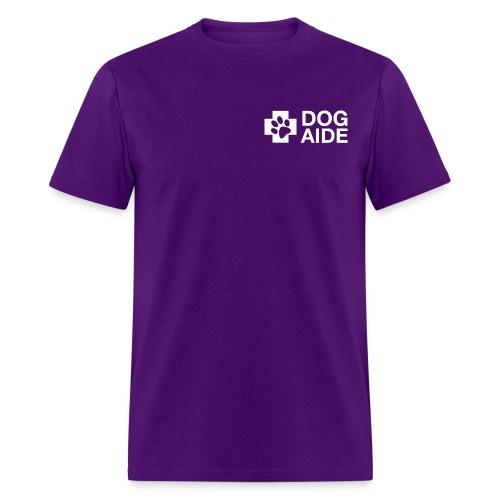 DA Logo White - Men's T-Shirt