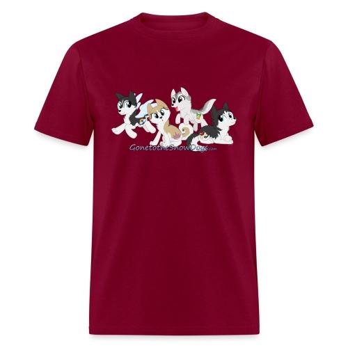 MY LITTLE HUSKYS - Men's T-Shirt