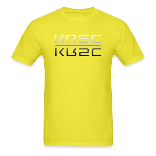 KRSC two up png - Men's T-Shirt