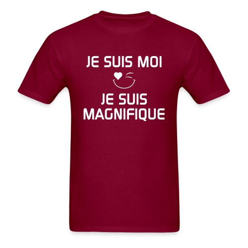 JeSuisMoiJeSuisMagnifique - Men's T-Shirt