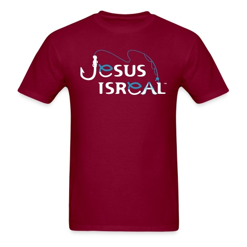 Jesus Isreal White Background - Men's T-Shirt