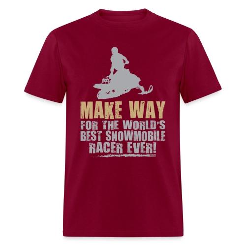Snowmobile Racing - Men's T-Shirt