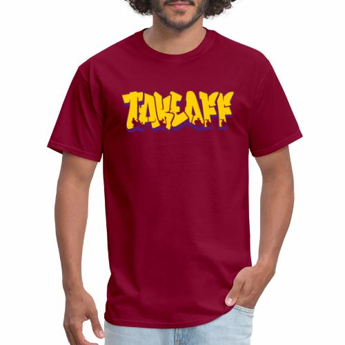 Takeoff Graffiti - Men's T-Shirt