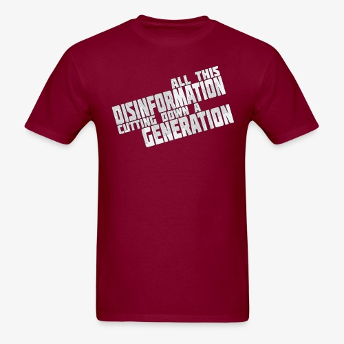 Disinformation - Men's T-Shirt