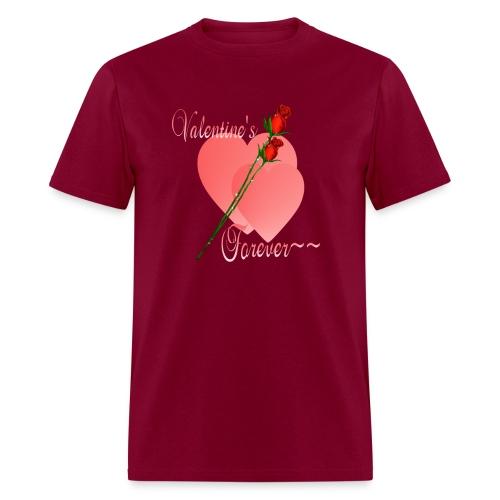 Valentine's Forever - Men's T-Shirt
