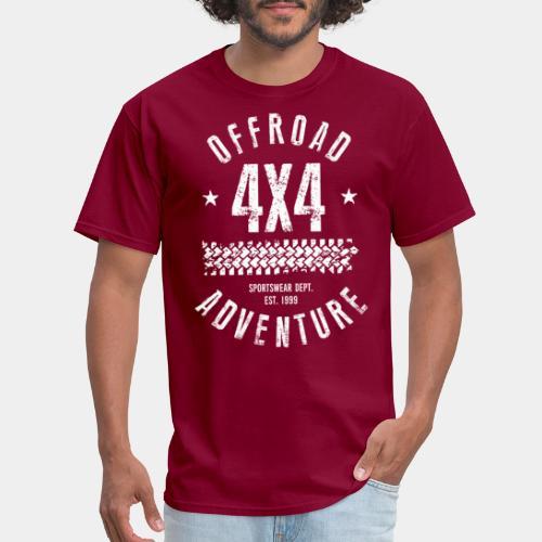 offroad avdenture truck - Men's T-Shirt