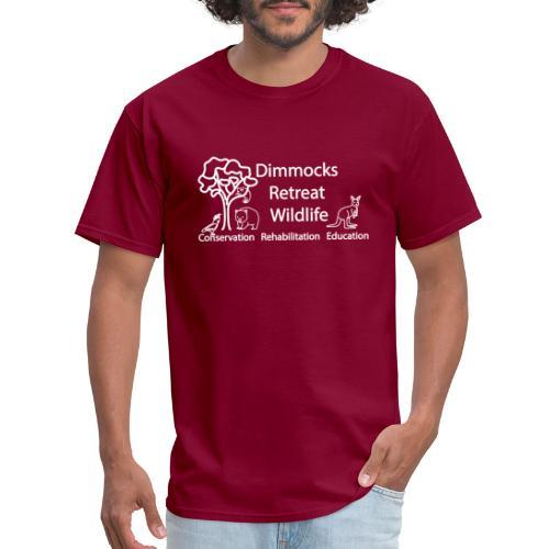 Dimmocks Retreat Wildlife Logo Apparel - Men's T-Shirt