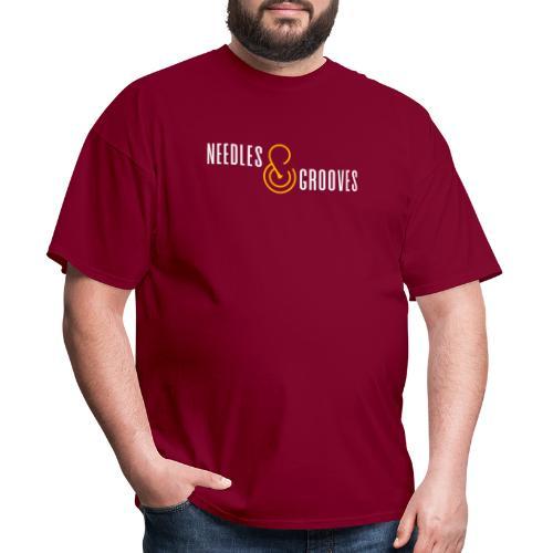 Full Logo (FFFFFF) - Men's T-Shirt