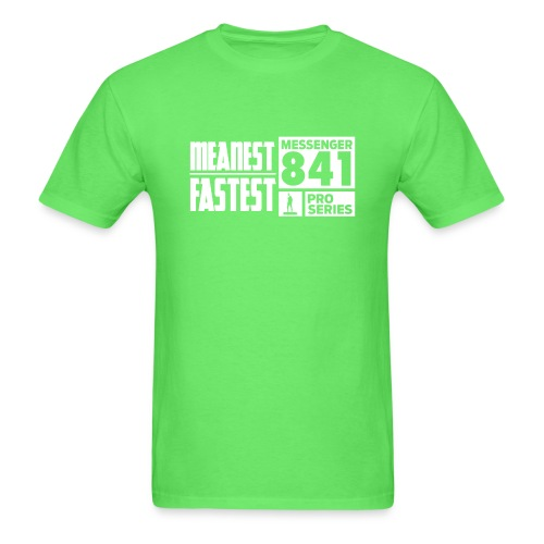 Messenger 841 Meanest and Fastest Crew Sweatshirt - Men's T-Shirt