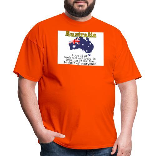Australian Patriot - Men's T-Shirt