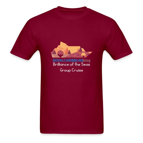 Brilliance of the Seas Group Cruise - Men's T-Shirt