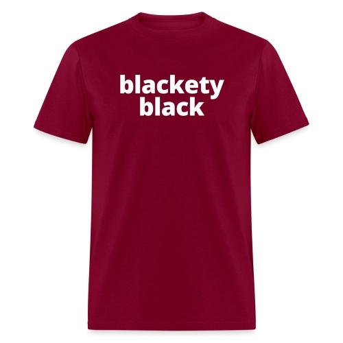 Women's Blackety Black Hoodie - Men's T-Shirt