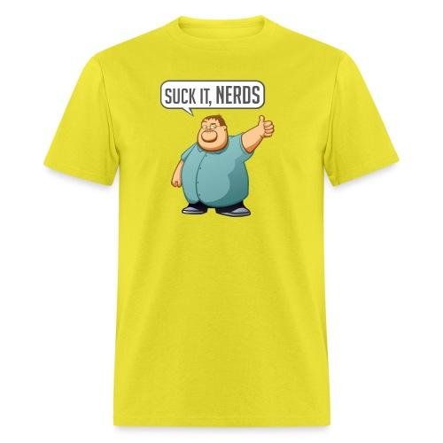 boogie suckitnerds - Men's T-Shirt
