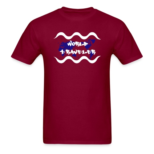 World Traveler - Men's T-Shirt
