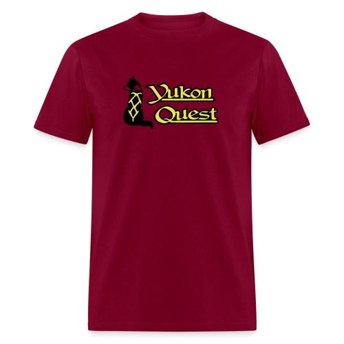 logo yukon quest 2c on white - Men's T-Shirt
