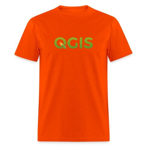 qgis_600dpi_transp_bg - Men's T-Shirt