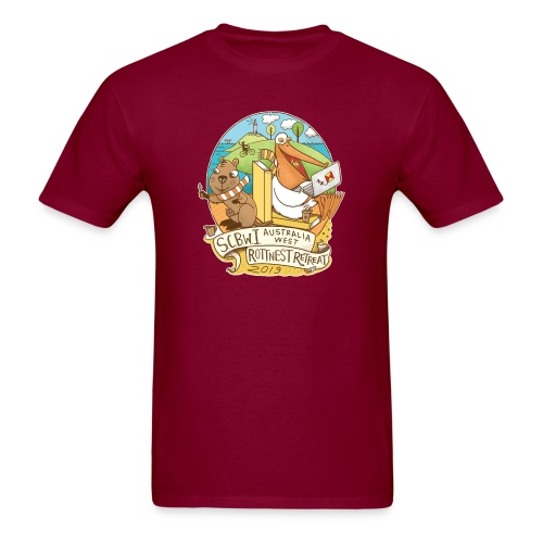 SCBWI Australia West 2019 Rottnest Retreat - Men's T-Shirt