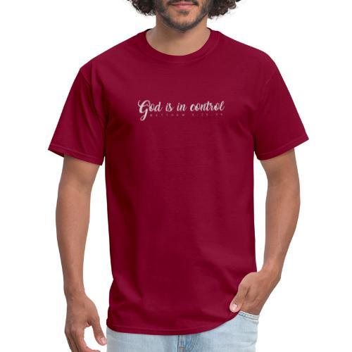 God is in control - Matthew 6:25-34 - Men's T-Shirt