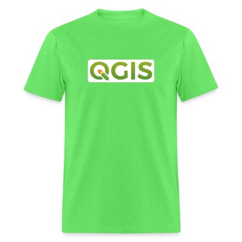 qgis_600dpi_white_bg - Men's T-Shirt