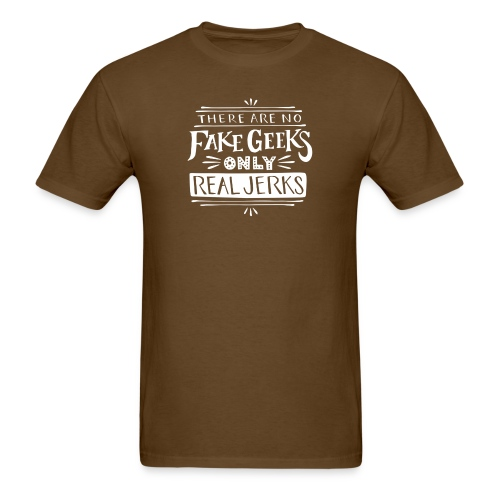 real jerks doodads copy copy white png - Men's T-Shirt