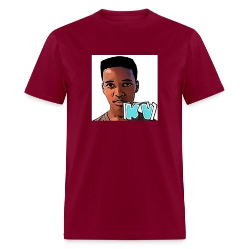 KevinsVids Face Logo - Men's T-Shirt